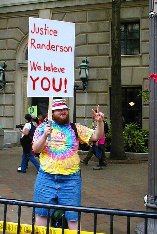 OnPoint Images #1: Justice Randerson we believe you: Justice Randerson, we believe you!