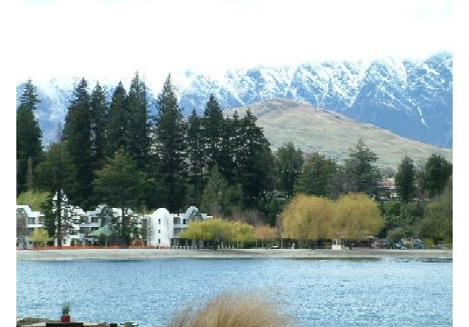 view from queenstown: