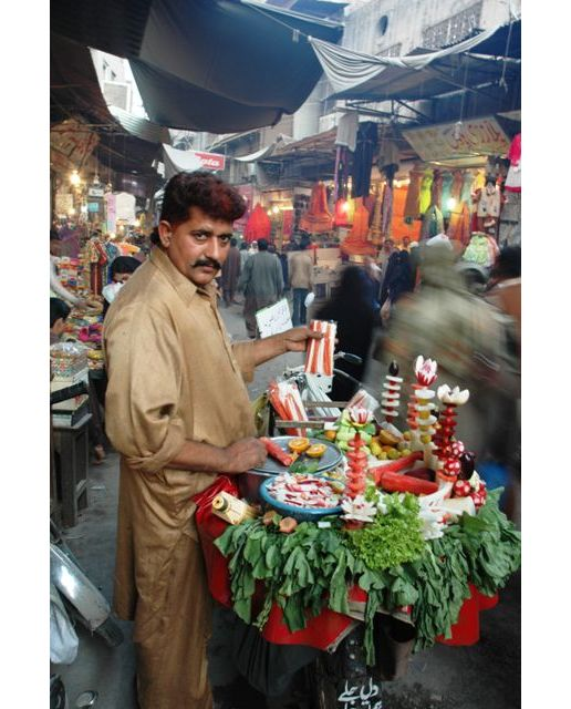 Fruit vendor: