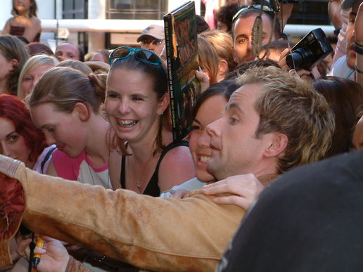 Billy Boyd takes his own photo: