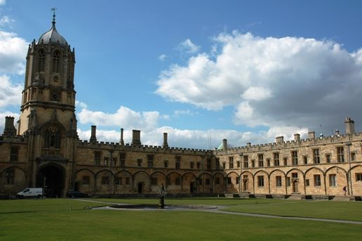 Christ's College: The inner quad at Christ's College