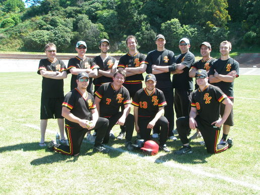 Poneke-Kilbirnie 2B: Our official team photo