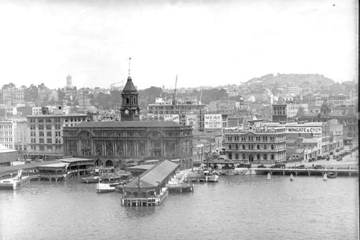 The Ferry Building: Ferry Buildings, 1927.