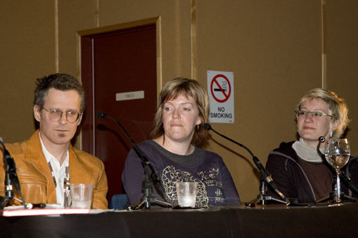 The Panel 2: Peter McLennan, Robyn Gallagher and danah boyd