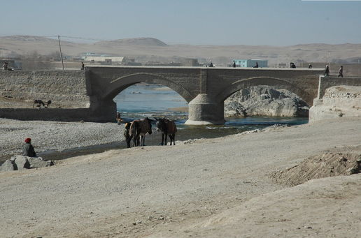 Chagharan Bridge:
